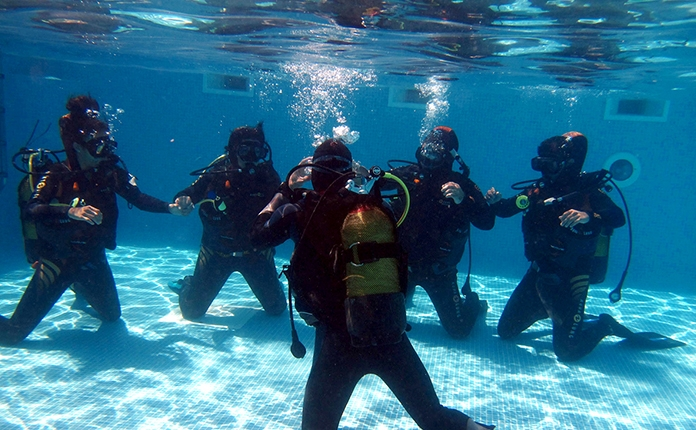 Baptême de plongée - DSD