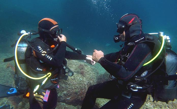 Bateig de submarinisme - DSD