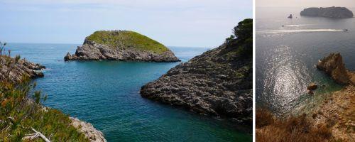 Les cales de la Costa del Montgrí